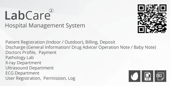 LabCare - Hospital Management System (Billing, Pathology, Ultrasound, ECG)