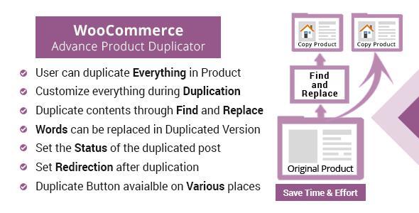 WooCommerce Product Duplicator