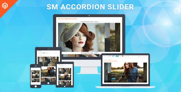 SM Accordion Slider - Responsive Magento Module