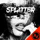 Ink Splatter Photoshop Template - GraphicRiver Item for Sale