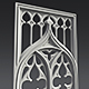 Gothic Ornament 3D model - 3DOcean Item for Sale