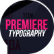 Premiere Typography | MOGRT - VideoHive Item for Sale