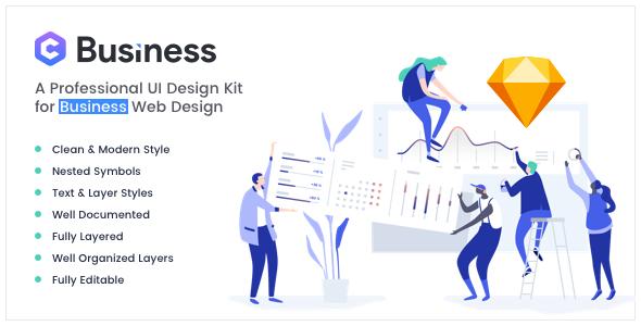 Yosemite - Business Sketch App Template