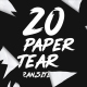 20 Paper Tear Transitions - VideoHive Item for Sale