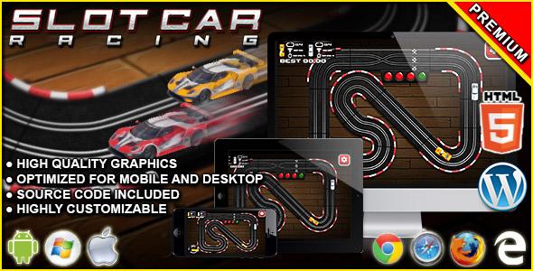 Slot Car Racing - HTML5 Racing Game Download