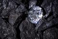 Diamong amongst Coal - PhotoDune Item for Sale