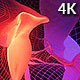 Cloth Flame Abstract VJ Loop 4K - VideoHive Item for Sale