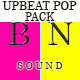 Upbeat Inspiring Pop Pack - AudioJungle Item for Sale