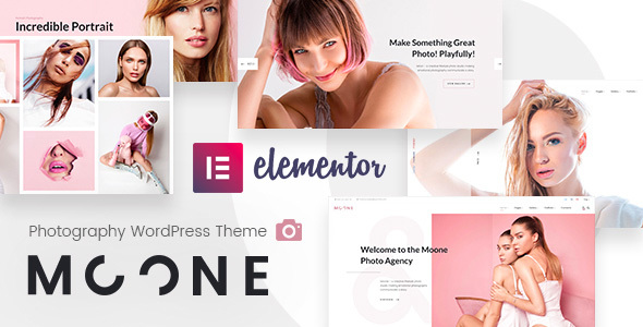 Moone | Photography WP Theme for Elementor