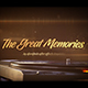 The Great Memories - VideoHive Item for Sale