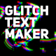 Wave Glitch Text Maker - VideoHive Item for Sale