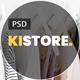 Kistore – Lookbook E-commerce PSD Template - ThemeForest Item for Sale