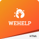 WeHelp - Nonprofit Charity Fundraising PSD Template - ThemeForest Item for Sale