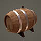 Wine barrel - 3DOcean Item for Sale