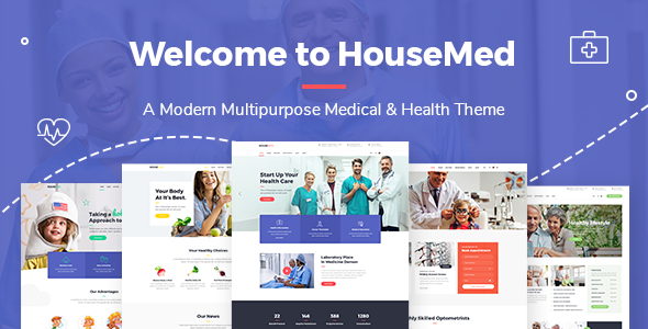 HouseMed - Medical and Health Theme