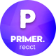 Primer - React Material Design Admin Template - ThemeForest Item for Sale