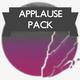 Crowd Applauding - Pack 1 - AudioJungle Item for Sale