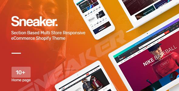 Sneaker - Multipurpose, Fashion, Shoes Responsive Shopify Theme