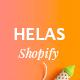 Helas - Minimal Shopify Theme - ThemeForest Item for Sale