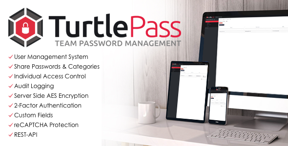 TurtlePass - Team Password Manager Download