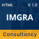 IMGRA - Immigration Business Consultancy Services Agency Template - ThemeForest Item for Sale