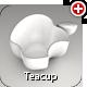 An Apple Teacup - 3DOcean Item for Sale