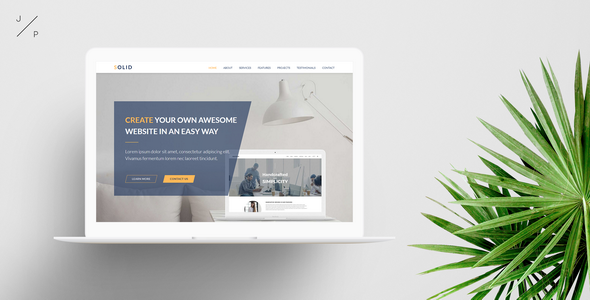 SOLID - Startup Business Muse Template