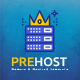 Prehost - Domain & Hosting PSD Template - ThemeForest Item for Sale