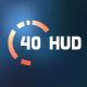 40 Hi-tech HUD Elements - GraphicRiver Item for Sale