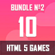 10 HTML5 Games + Mobile Version!!! MEGA BUNDLE №2 (Construct 2 / CAPX) - CodeCanyon Item for Sale