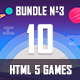 10 HTML5 Games + Mobile Version!!! MEGA BUNDLE №3 (Construct 2 / CAPX) - CodeCanyon Item for Sale