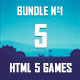 5 HTML5 Games + Mobile Version!!! BUNDLE №1 (Construct 2 / CAPX) - CodeCanyon Item for Sale
