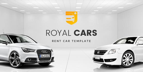 Royalcars - Car, Bike Rental Bootstrap 4 HTML Template