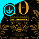 Gold Anniversary Square Flyer Template - GraphicRiver Item for Sale