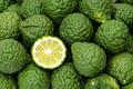 Kaffir limes, one cut citrus fruit for herbal medicine - PhotoDune Item for Sale
