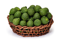 Kaffir lime in basket of wicker, for herbal medicine - PhotoDune Item for Sale