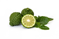Kaffir limes, bergamot fruit on white background - PhotoDune Item for Sale