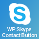 WP Skype Contact Button - Premium Skype Button Plugin for WordPress - CodeCanyon Item for Sale