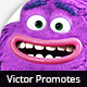 Victor Promotes - 3D Character Animation - VideoHive Item for Sale