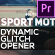 Dynamic Glitch Opener // Sport Motivation - VideoHive Item for Sale