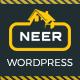 Neer - Construction Business WordPress Theme - ThemeForest Item for Sale