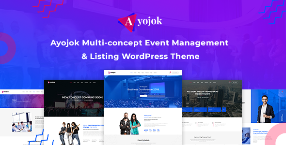 Ayojok - Event WordPress Theme