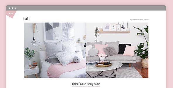 Calm Premium Tumblr Theme