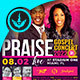 Praise Gospel Concert Flyer Template - GraphicRiver Item for Sale