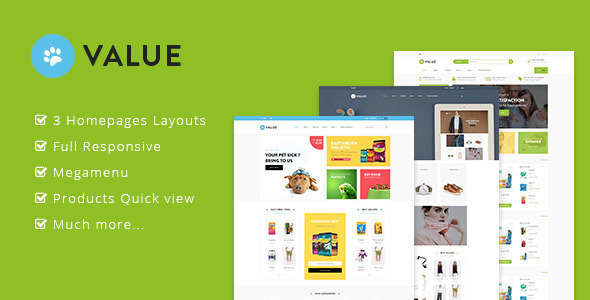 Ap Value - Bigcommerce theme for Pets | Fashion | Multipurpose