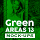 Green Areas Vol.13 Mock-Ups Pack - GraphicRiver Item for Sale
