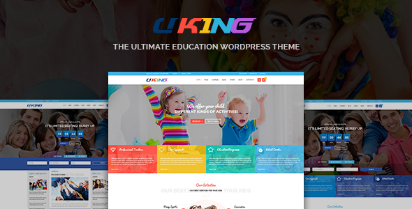 Uking - Responsive WordPress Education Theme