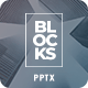 Blocks PowerPoint - GraphicRiver Item for Sale