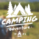 Mountain Travel And Campfire Badges - VideoHive Item for Sale