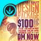 Design Promotion Square Flyer Template - GraphicRiver Item for Sale